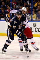 NHL: MAR 31 Blue Jackets at Blues
