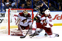 NHL: MAR 14 Coyotes at Blues