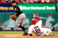 MLB: APR 28  Pirates at Cardinals