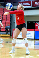 SIUE Volleyball v UT Martin 28 Sept 2018