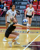 SIUE Volleyball v Jacksonville State 18 OCT 2019