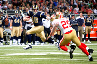 NFL 2012: Jan 1 49ers at Rams