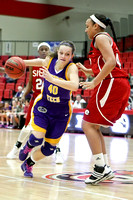 NCAA WOMENS BASKETBALL 2011 - Feb 22 - Tennessee Tech at Southern Illinois University Edwardsville
