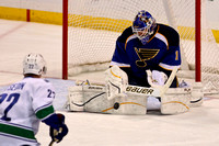 NHL 2012 - Jan 12 - Vancouver Canucks  at St. Louis Blues
