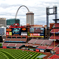St. Louis Cardinals 2015 Home Opener against the Brewers 13 April 2015