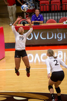 SIUE vs Evansville Volleyball 3 Sept 2016