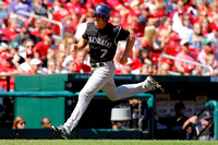 MLB: SEP 14 Rockies at Cardinals
