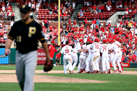 MLB: AUG 15 Pirates at Cardinals