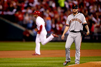 MLB: OCT 12 NLCS - Giants at Cardinals - Game 2