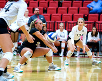 SIUE Volleyball vs Belmont Bruins 30 Sept 2017