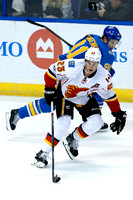 Calgary Flames at St. Louis Blues Hockey 25 March 2017