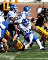 NCAA FOOTBALL: OCT 29 Kentucky at Missouri