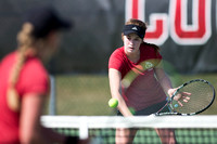 SIUE Women's Tennis vs Missouri State 4 March 2017